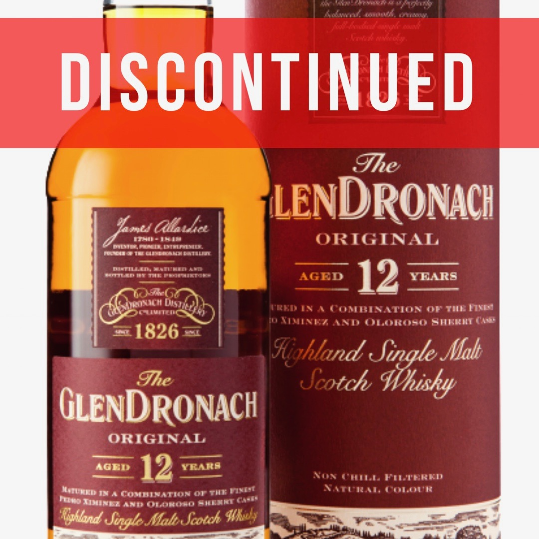 GlenDronach 12 years old discontinued