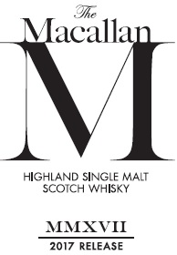 Macallan M 2017 label