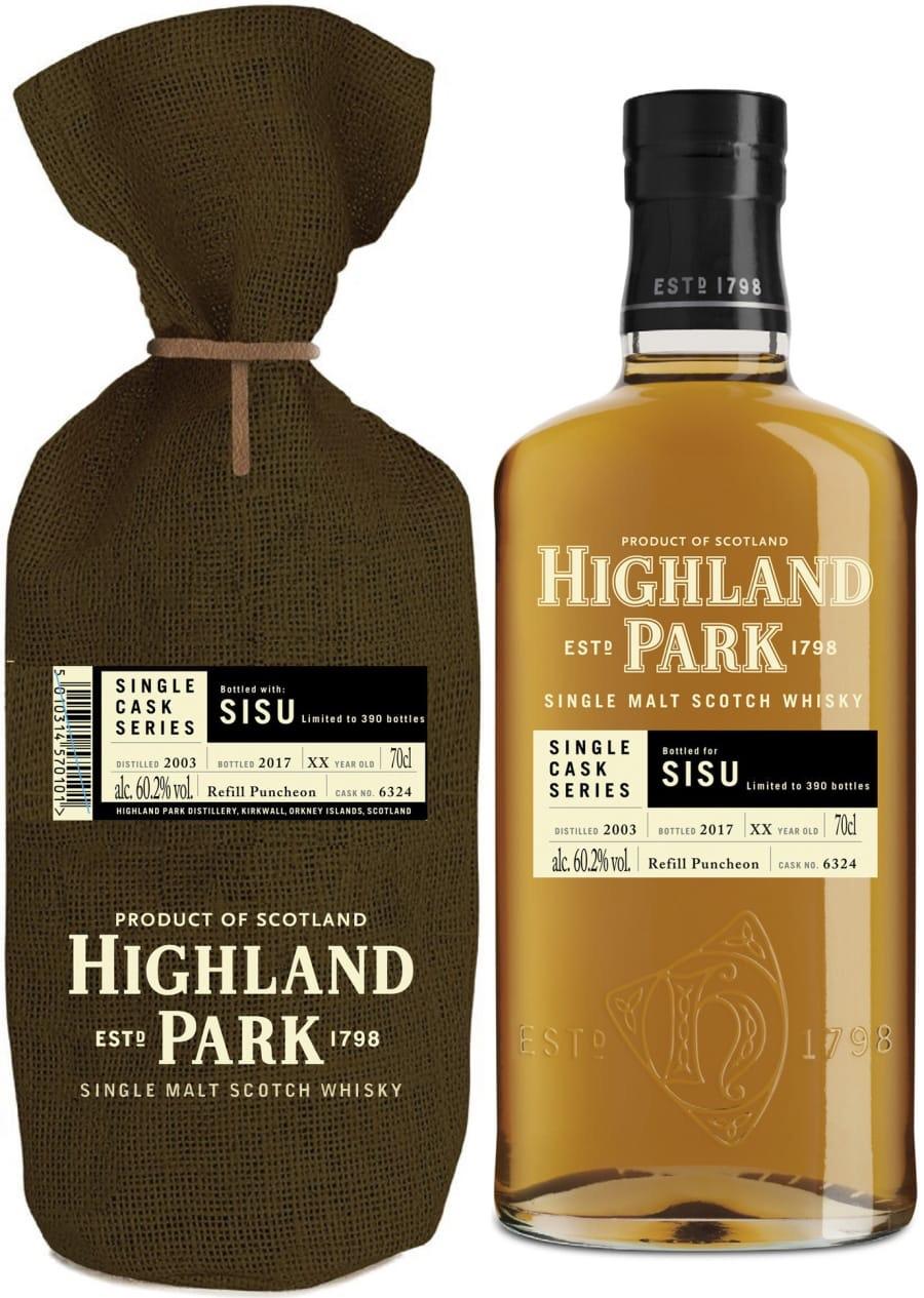 Highland Park Bottled with Sisu