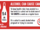 Alcohol can cause cancer label