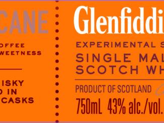 Glenfiddich Fire & Cane lower label