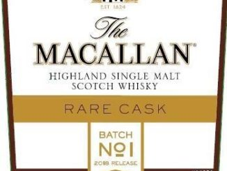 Macallan Rare Cask Batch No 1 2018 Release