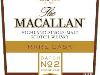 Macallan Rare Cask Batch No 2 2018 Release