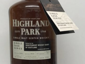 Highland Park for Independent Whisky Bars of Scotland