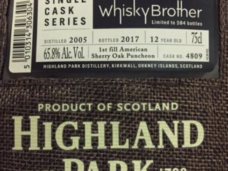 Highland Park WhiskyBrother #4809