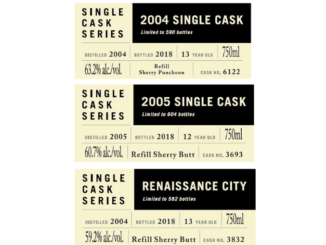 Highland Park new single casks