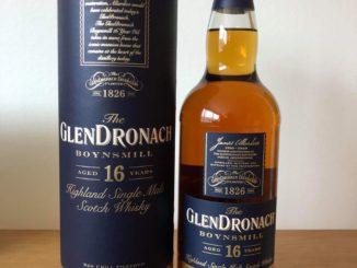 the GlenDronach 16 yo Boynsmill