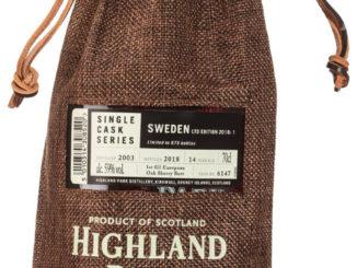 Highland Park Sweden LTD Edition 2018:1